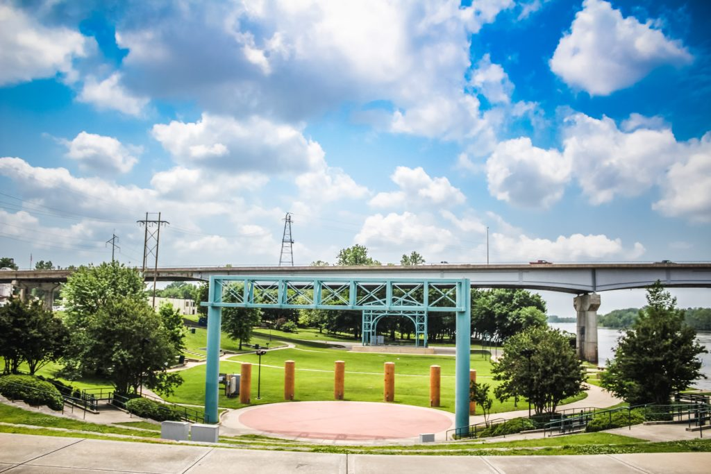 Fort Smith Riverfront Amphitheater Park