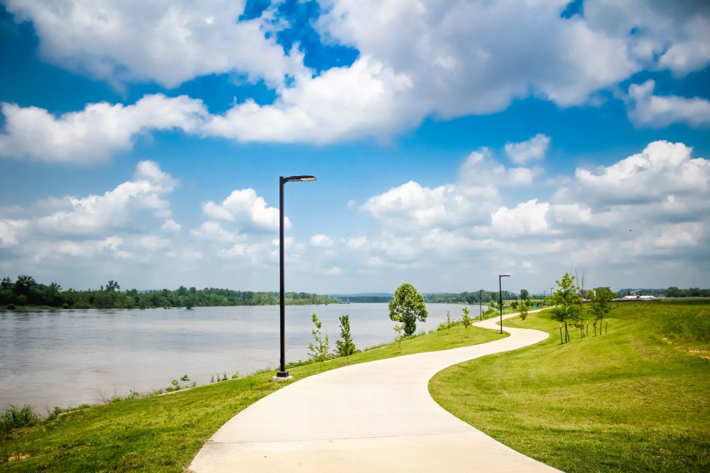 Greg Smith River Trail - Fort Smith Walking Trails