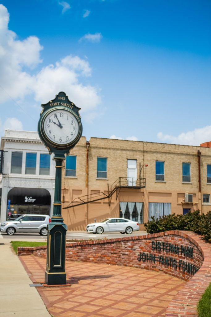 Downtown Fort Smith Cisterna Park