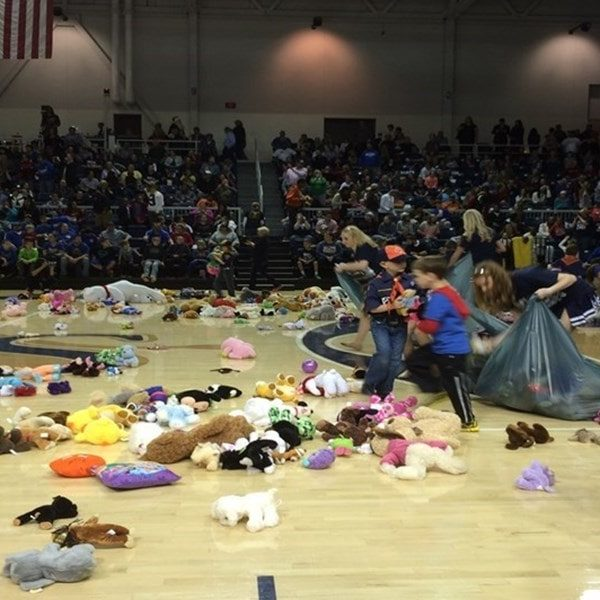Fort Smith UAFS Toy Toss